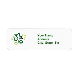 Shamrock - Address Labels
