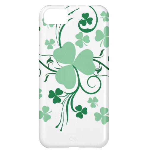 Shamrock blossom iPhone 5C case