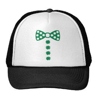 Shamrock bow tie tuxedo hat