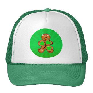 SHAMROCK BOY & LIGHT RAYS by SHARON SHARPE Trucker Hats