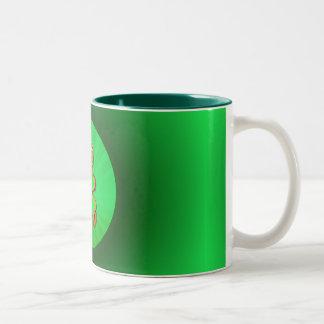 SHAMROCK BOY & LIGHT RAYS by SHARON SHARPE Coffee Mug