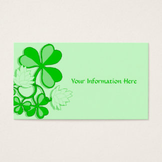 Shamrock Business Card