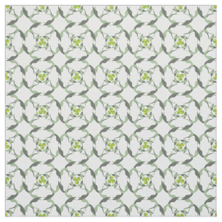 Shamrock Celtic Inspired Pattern St. Patrick's Day Fabric