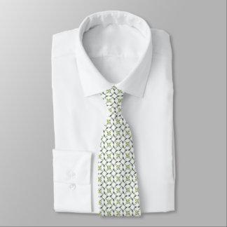 Shamrock Celtic Inspired Pattern St. Patrick's Day Tie