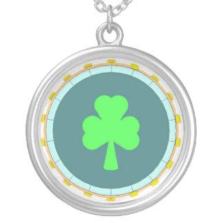 Shamrock Circle Necklace