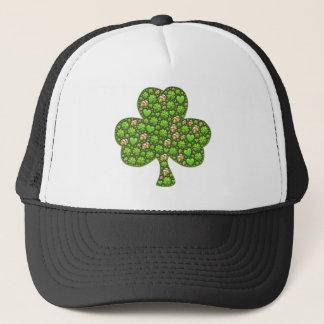 Shamrock Clover Beer St. Patrick's Day, Patty's Trucker Hat