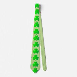 Shamrock Clover Tie