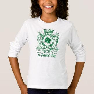 Shamrock Coat of Arm Crest St.Patrick's Day Shirts