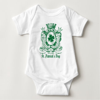 Shamrock Coat of Arm St.Patrick's Day Bodysuits