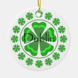 Shamrock Dublin Ornament