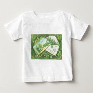 Shamrock Envelope Postcard Irish Flag Baby T-Shirt