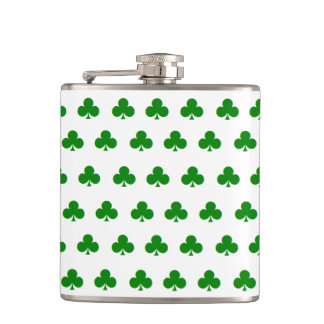 """Shamrock"" Flask (6 oz.)"