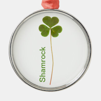 Shamrock for Saint Patrick s Day Christmas Tree Ornament