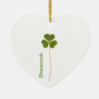 Shamrock for Saint Patrick's Day Christmas Tree Ornaments