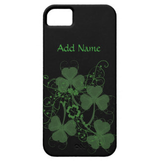 Shamrock Graphic Custom iPhone 5 Cases
