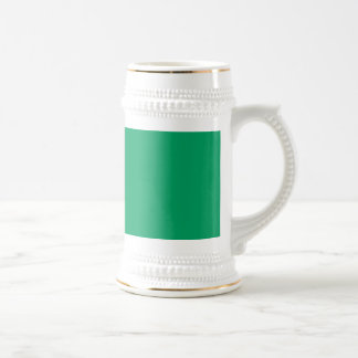 Shamrock Green Beer Stein