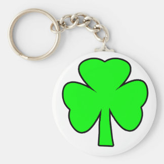 Shamrock Green Black The MUSEUM Zazzle Gifts Sell Key Chain