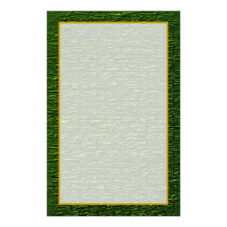 Shamrock Green Brick Fine Lined Stationery