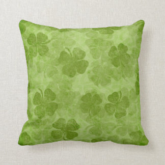 Shamrock Green Irish Pillow