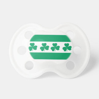 Shamrock Green River Baby Pacifiers