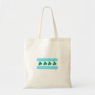 Shamrock Green River Chicago St. Patrick's Irish Tote Bag