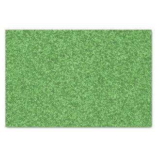 Shamrock Green Sparkles Tissue Paper