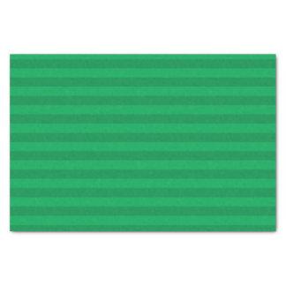 Shamrock Green Stripes Tissue Paper