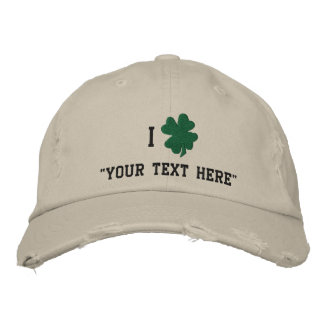 Shamrock Hat Create Your Own Embroidered Hat