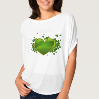 Shamrock Hearts Irish Celtic Ireland Top