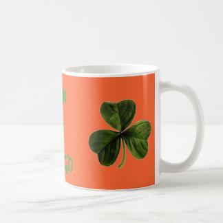 shamrock, homehat, Erin Go Bragh Coffee Mug