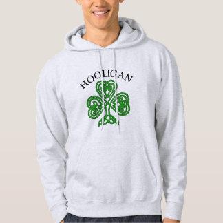 Shamrock Hooligan Funny St. Patrick's Day Hoodie