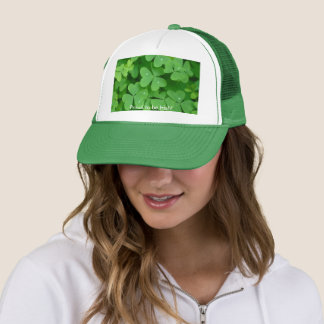 Shamrock image for Trucker Hat