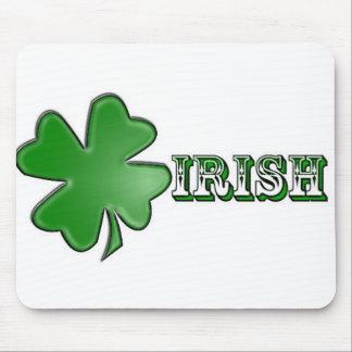 Shamrock Irish Mousepad! Mouse Pad