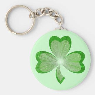 Shamrock keychain green