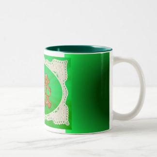 SHAMROCK KIDS & LIGHT RAYS by SHARON SHARPE Coffee Mugs