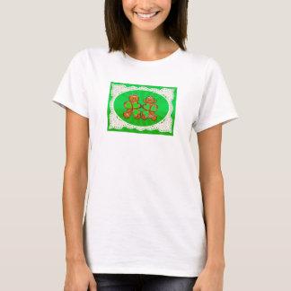 SHAMROCK KIDS & LIGHT RAYS by SHARON SHARPE T-Shirt