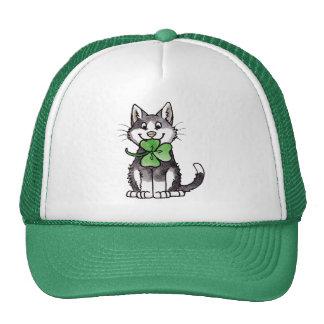 Shamrock Kitty Cap
