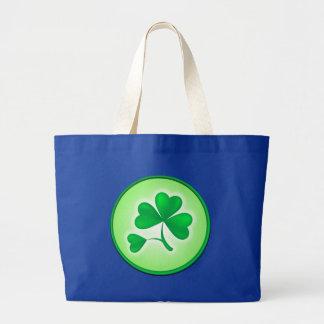 Shamrock Leaf Tote Bag