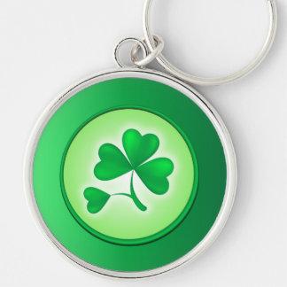 Shamrock Leaf Keychain