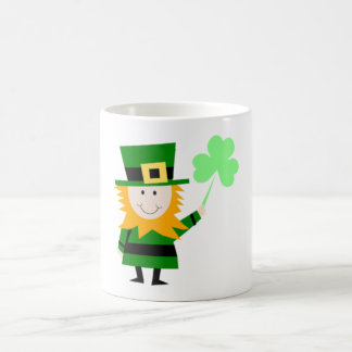 Shamrock Leprechaun Coffee Mug