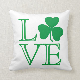 Shamrock Love Pillow