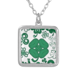 Shamrock Lucky Charms Necklace, Tie, Tag