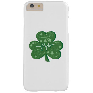Shamrock Nurse St Patricks Day Gift Barely There iPhone 6 Plus Case