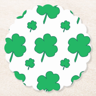 Shamrock Paper Coaster