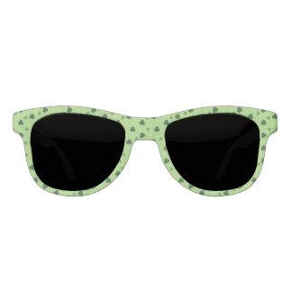 Shamrock Pattern Frame Sunglasses