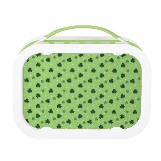 Shamrock Pattern Lunchbox