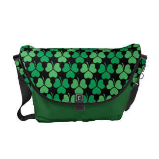 Shamrock Pattern Courier Bags