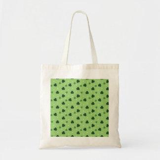 Shamrock Pattern Tote Bag