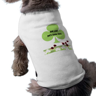 Shamrock Pet Sweater Shirt