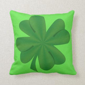 "Shamrock Polyester Throw Pillow 16"" x 16"""
